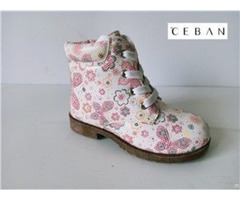 Girl S Flower Cute Injection Boots Chinese Supplier