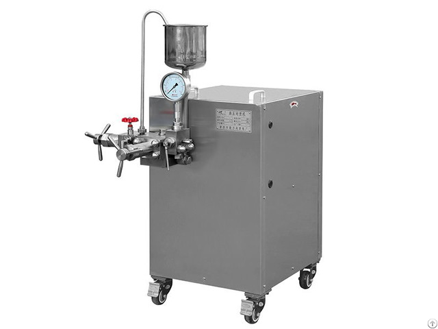 Homogenizing Machine