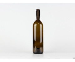 Bordeaux Wine Glass Bottle 750ml