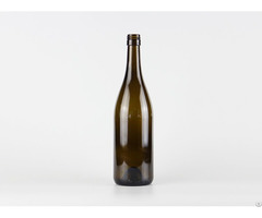 750ml Glass Burgundy Wine Bottle 2119