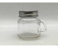 Custom Glass Jars With Lids B150