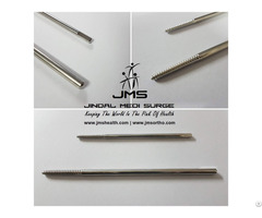 Front Threaded Pin Shanz Screw Orthopedic Implant