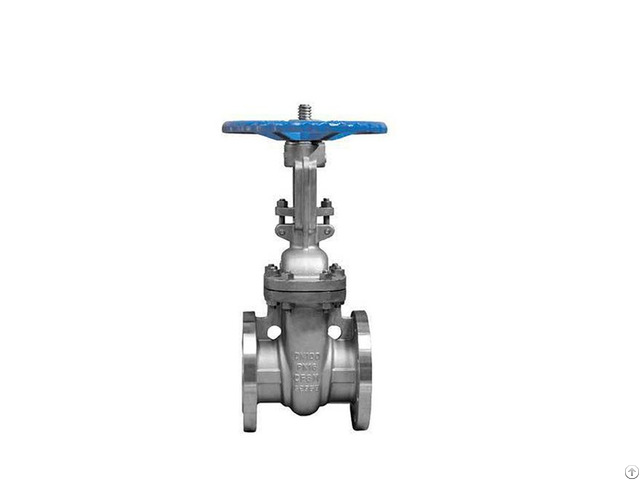 Din Pn 16 Stainless Steel Flanged Gate Valve