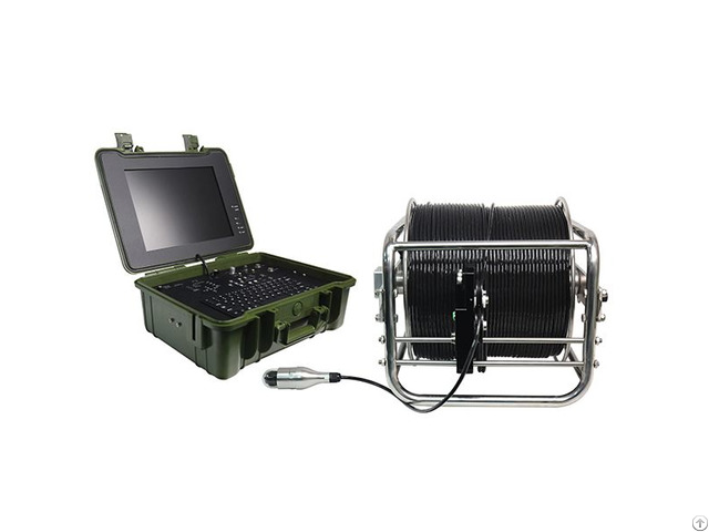Wopson 15inch Monitor Pan Tilt Deep Well Inspection Camera