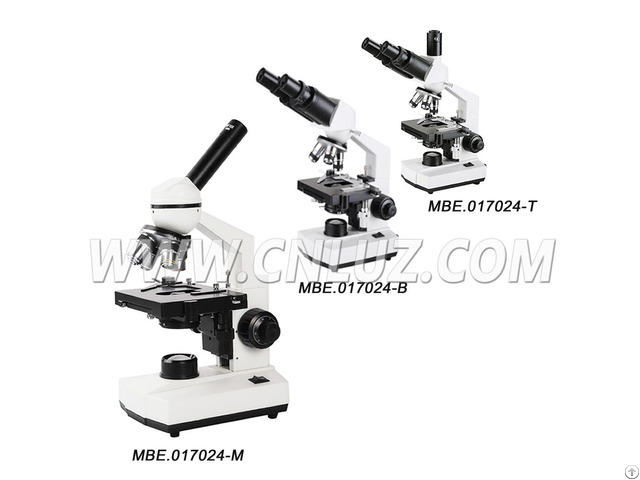 Biological Microscope For Student 40x 1000 With Led Light Mbe 017024
