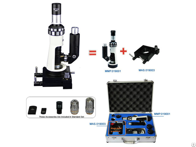Portable Metallurgical Microscope Mmp 019001