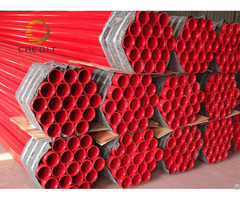 Erw Red Color Fire Pipe