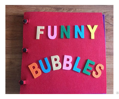 Popular Baby Memory Soft Felt Fabric Quiet Book