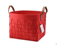 China Factory Products Home felt Storage baskets