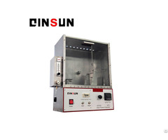 Ftms 191 45 Degree Flammability Tester