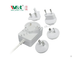5v Ce Ul Saa Bs Interchangable Adapter Charger