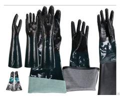 Pvc Luokou Oil Resistant Gloves
