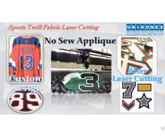Permanent Sports Twill No Sew Appliqué Cutting