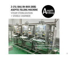 Non Backflow Bib Filler 3 Head Bag In Box Aseptic Filling Machine