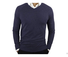 Comfortably Men Pure Wool Sweater