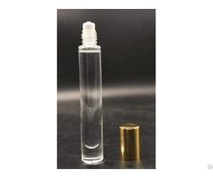 Low Price Customized Perfume Round Tube Screw Neck Glass Bottle 10ml Wholesale