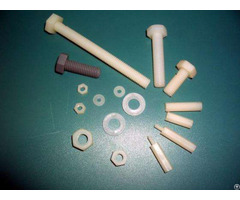 Customized Injection Pasts Pps Engineering Plastic Screw Bolt