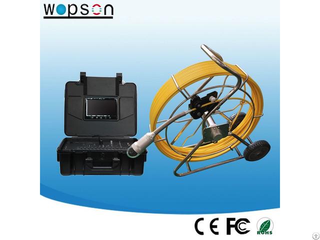 Pan Tilt Camera For Industrial Sewer Inspection Detector