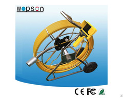 60m Cable Video Inspection Camera For Industrial Detector