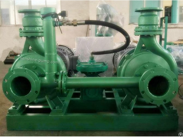Zb Strong Self Priming Pump With Vacuum Suction Device