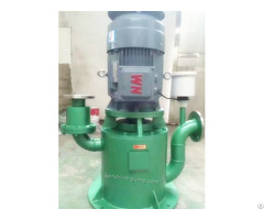 Wfb Vertical No Seal Self Priming Pump