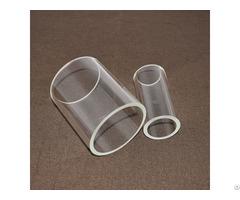High Temperature Clear Polishing Quartz Glass Tube