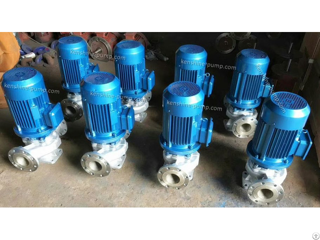 Ihg Stainless Steel Vertical Centrifugal Pump