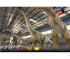 Factory Direct Supply Big Size Animatronic Dinosaur Simulation Model