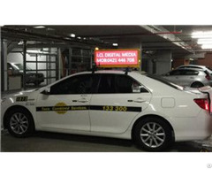 Taxi Top Led Billboard In Australia