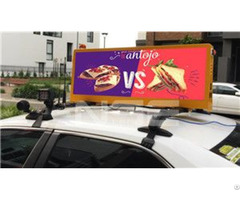 Australia High Definition Taxi Led Display
