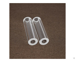 Fire Polished Clear Quartz Silica Glass Tube With Good Quality
