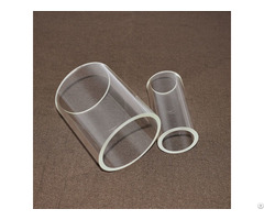 Crystal Quartz Pipes Clear Glass Tubes