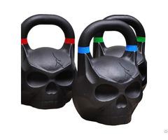 Cast Iron Skull Kettlebell 10kg