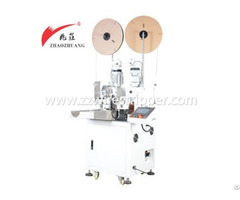 Automatic Double Ends Wire Cutting Stripping And Terminal Crimping Machine