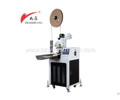 Automatic Single Ends Wire Cutting Stripping And Terminal Crimping Machine