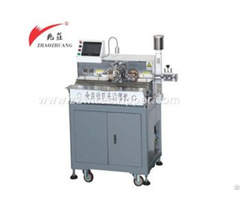 Automatic Double Ends Tin Dipping Machine Once Output Eight Wires
