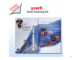 Pet Toothbrush For Dog Teeth Cleaning