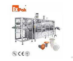 Linear Type Kcup Filling Sealing Machine