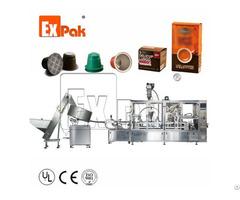 Nespresso Capsule Filling Sealing Machine