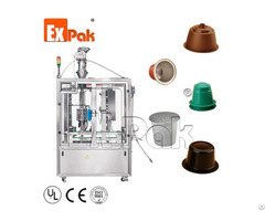 Cpl 2501 Linear Coffee Capsule Filling And Sealing Machine