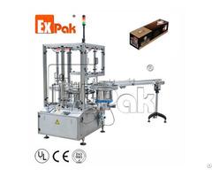 Rotary Type Automatic Box Packing Machine