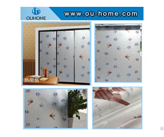 Bt851 Pvc Frosted Privacy Self Adhesive Decorative Film