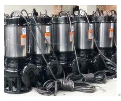 Jywq Automatic Agitating Submersible Sewage Pump