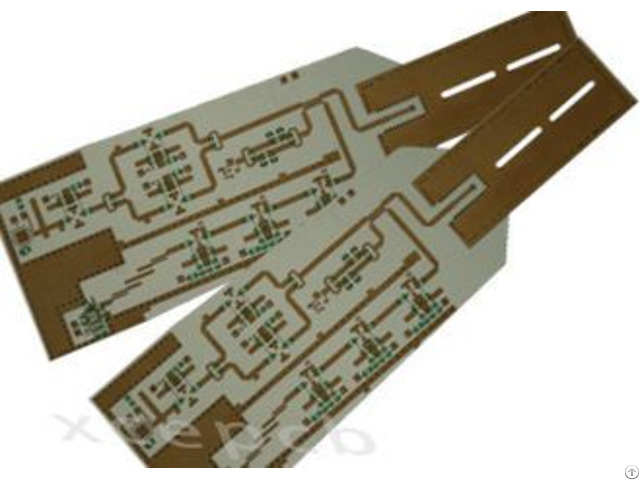 Laminate Rogers 4350b 2 Layer High Frequency Printed Pcb Board