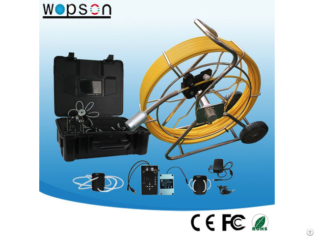 Video Inspection System For Industrial Pipe Camera With 150m Cable