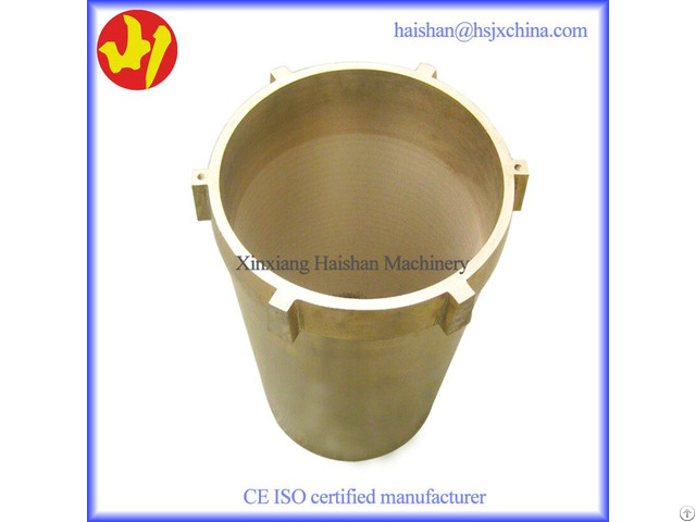 Hot Selling Precise Customized Nordberg Bronze Eccentric Bushing