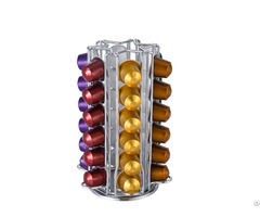 Metal Rotative Nespresso Coffee Pod Holder