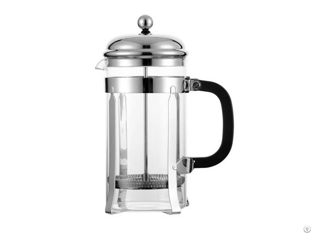 Borosilicate Glass French Press Coffee And Tea Maker