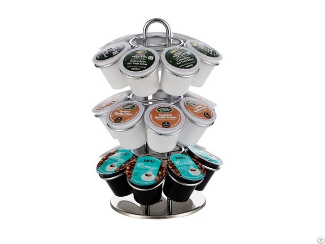 Metal Table Stand Keurig Coffee Pod Holder