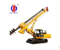 Supply 15 Meters Crawler Rotary Pile Drilling Rig With Square Power Rod From Huaxiamaster